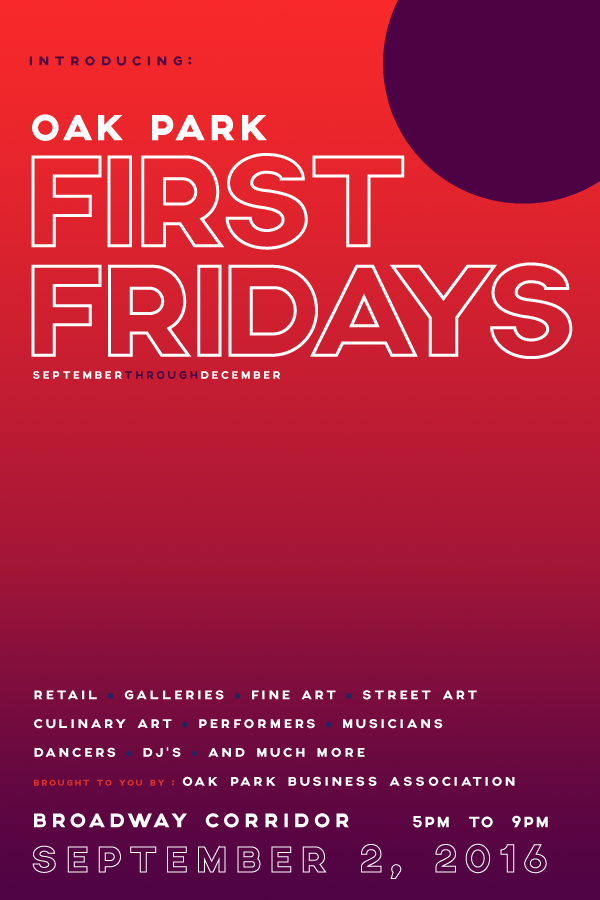 First Fridays Oak Park