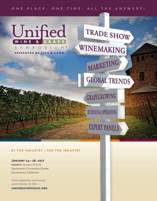 Unified wine grape symposium sacramento for Craft fairs sacramento 2017
