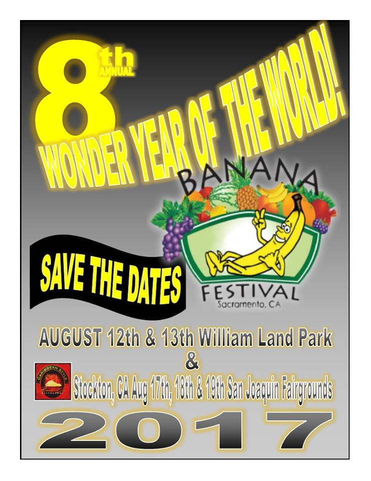 8th Annual Sacramento Banana Festival