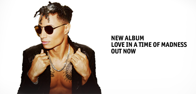 José James: Love in the Time of Madness Tour