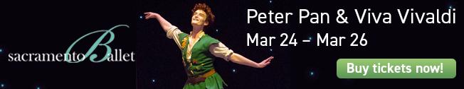 Sacramento Ballet Peter Pan
