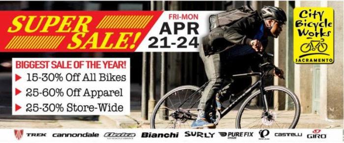 5a79b8d98e7 City Bicycle Works SUPER SALE – Sacramento