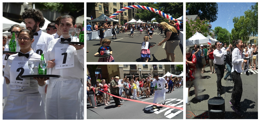 Bastille Day Waiters' Race & Street Festival