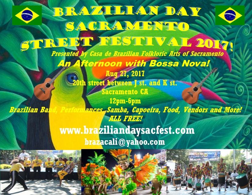 Brazilian Day Sacramento Street Festival 2017
