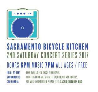 2nd Saturday at The Sacramento Bike Kitchen – Sacramento