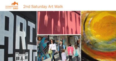 2nd Saturday Art Walk 8/12/17