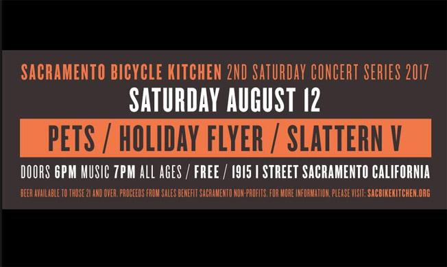 2nd Saturday music at Sac Bicycle Kitchen – Sacramento