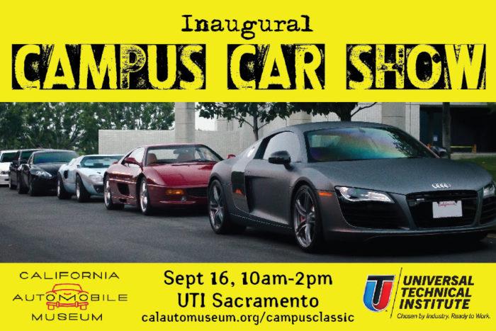Campus Car Show Sacramento - Car show in sacramento this weekend