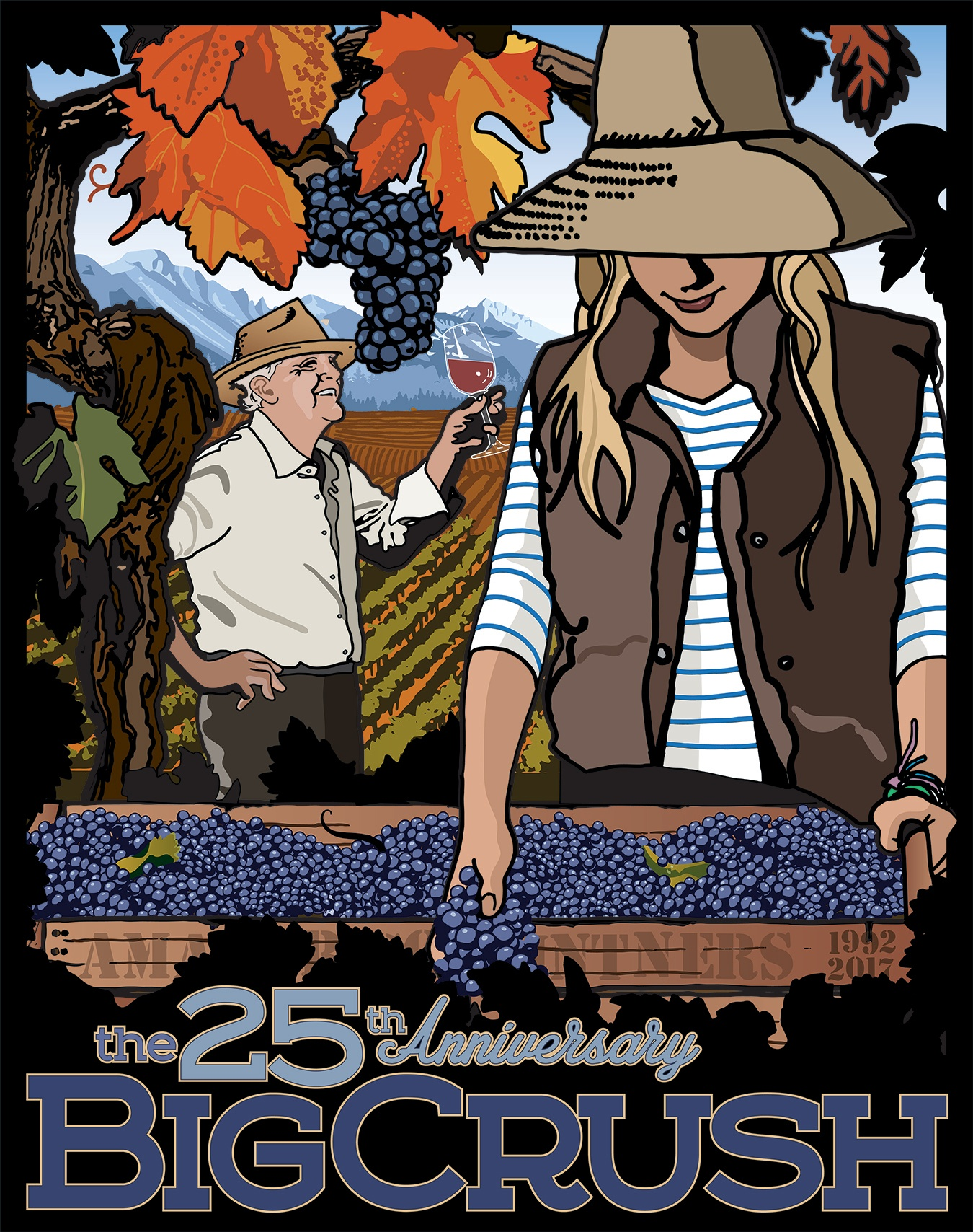 25th Anniversary Big Crush Harvest Festival