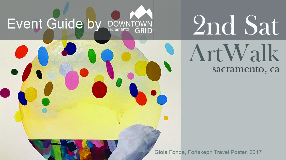 2nd Saturday Art Walk 8/10/19