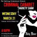 The Darling Clementines: Criminal Cabaret Variety Show