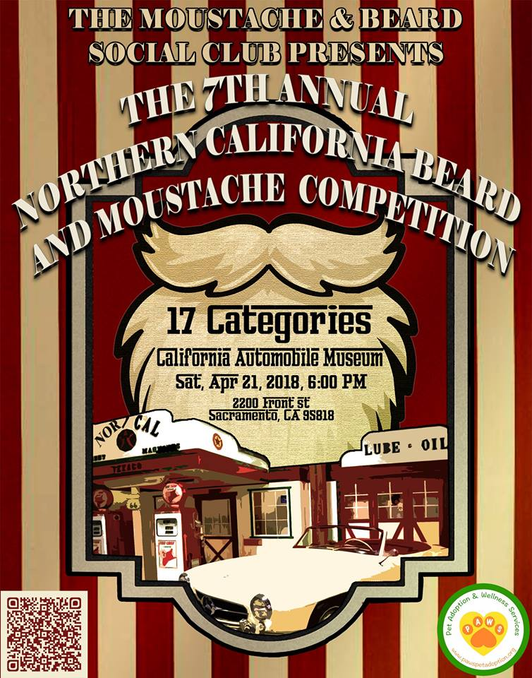 7th Annual Northern California Moustache & Beard Competition