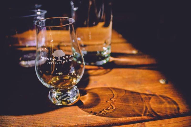 Sonoma County Distilling Tasting