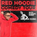 Bobby Bones Red Hoodie Comedy Tour