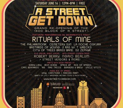 R Street Get Down Sacramento