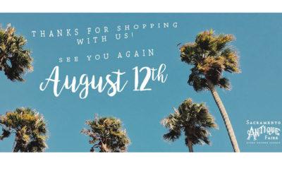 Sacramento Antique Fair august 2018