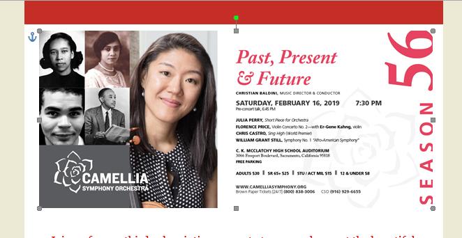 Camellia Symphony Orchestra: Past, Present & Future