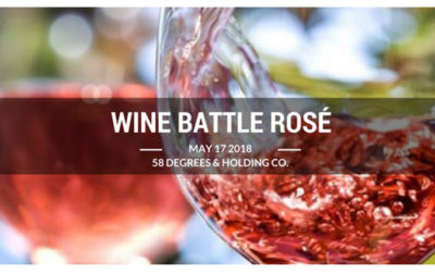 wine battle rose at 58 degrees