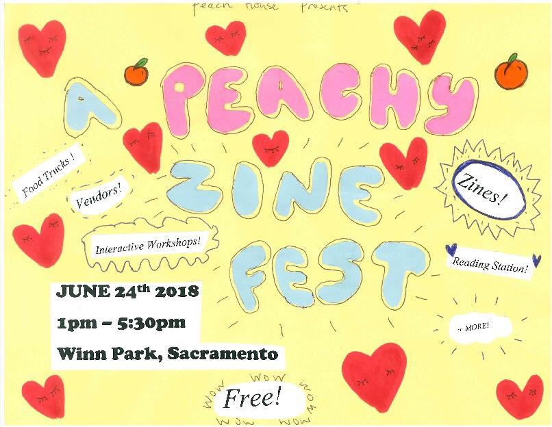 A Peachy Zine Fest!