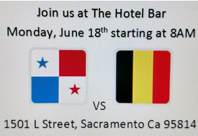 Soccer (#worldcup) Watch Party: Panama VS Belgium