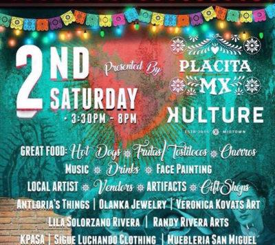 2nd Saturday Art Walk Placita MX - Kulture