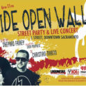 Wide Open Walls Street Party and Concert