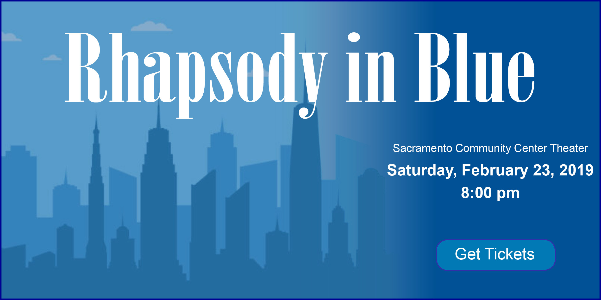 Sacramento Philharmonic: Rhapsody in Blue