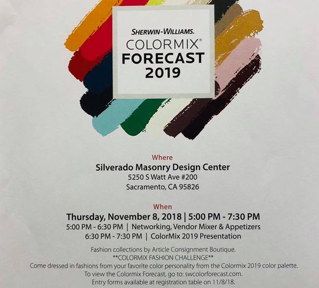 Sherwin Williams Color Forecast 2019 – FREE @ Silverado