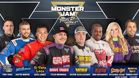 Monster Jam: Triple Threat Series