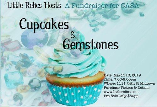Cupcakes & Gemstones @ Little Relics