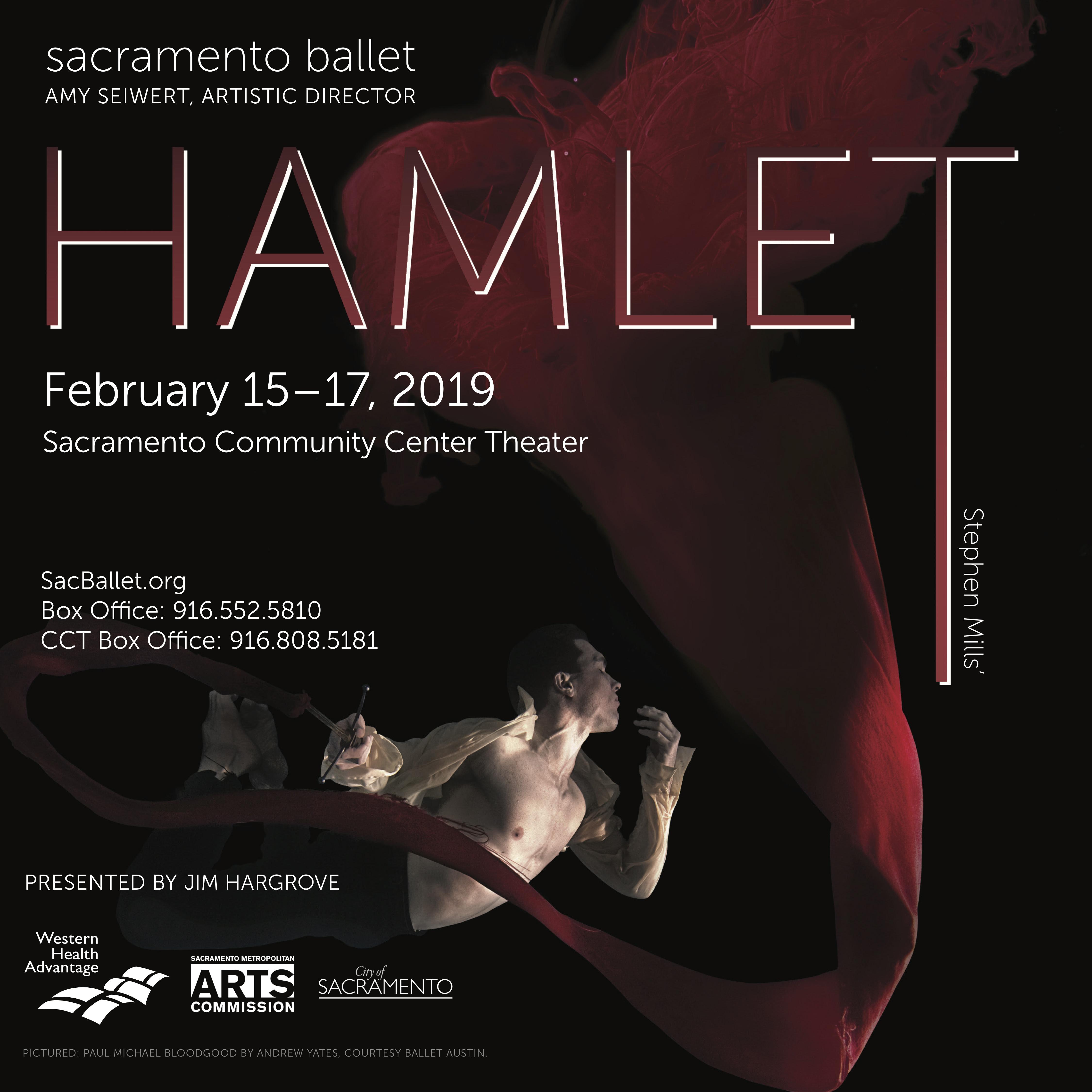 Sacramento Ballet: HAMLET