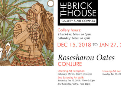 rosesharon oats at brickhouse gallery