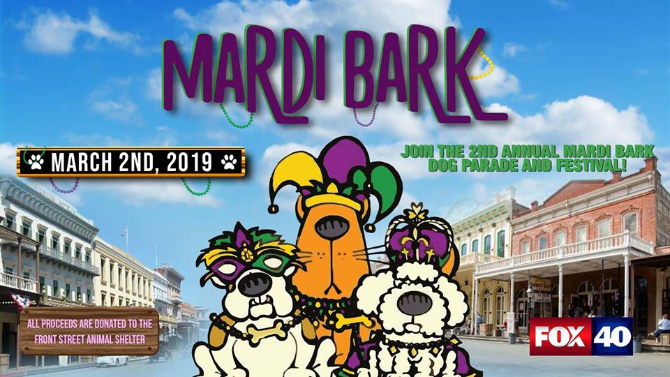 Mardi Bark Old Sacramento Waterfront