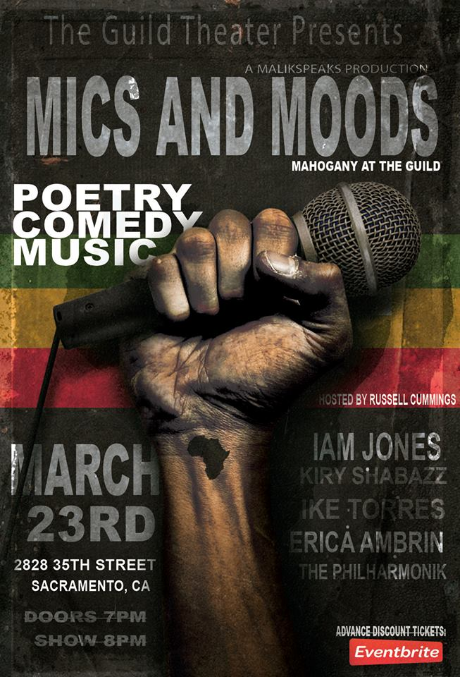 Mics and Moods @ The Guild Theater