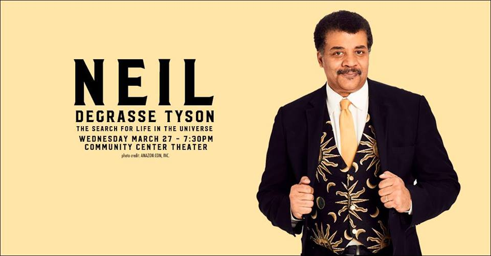 Dr. Neil deGrasse Tyson @ Community Center Theater