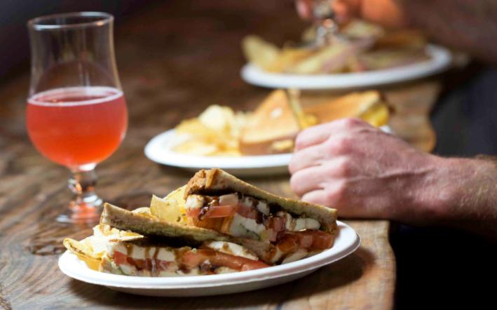 capresa sandwich cider house sacramento