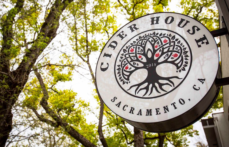 cider house sacramento facebook - sign