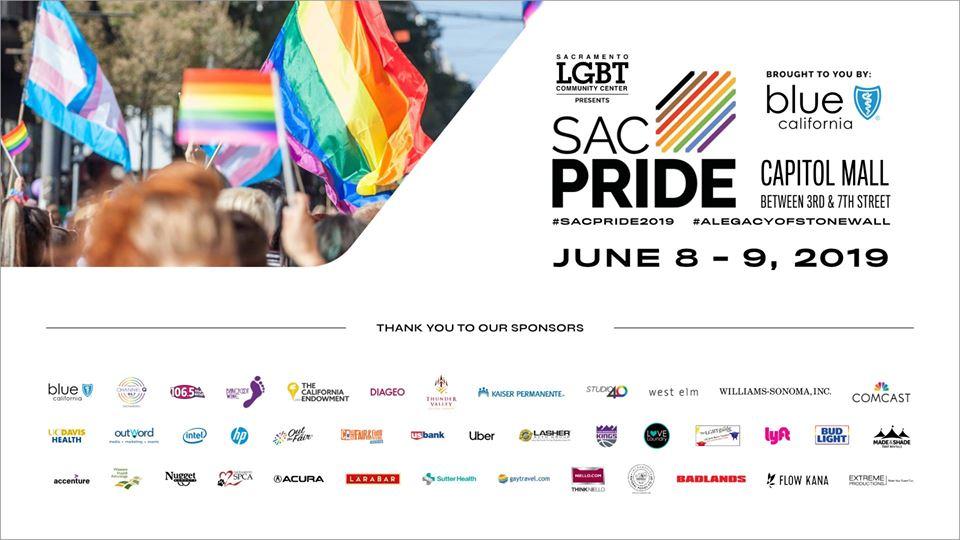 SacPride 2019 March & Parade
