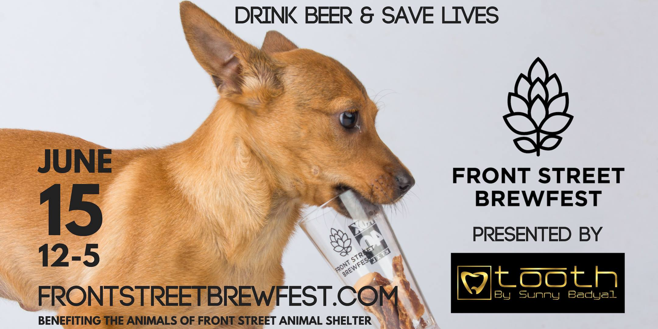 Front Street Brewfest @ The Front Street Animal Shelter