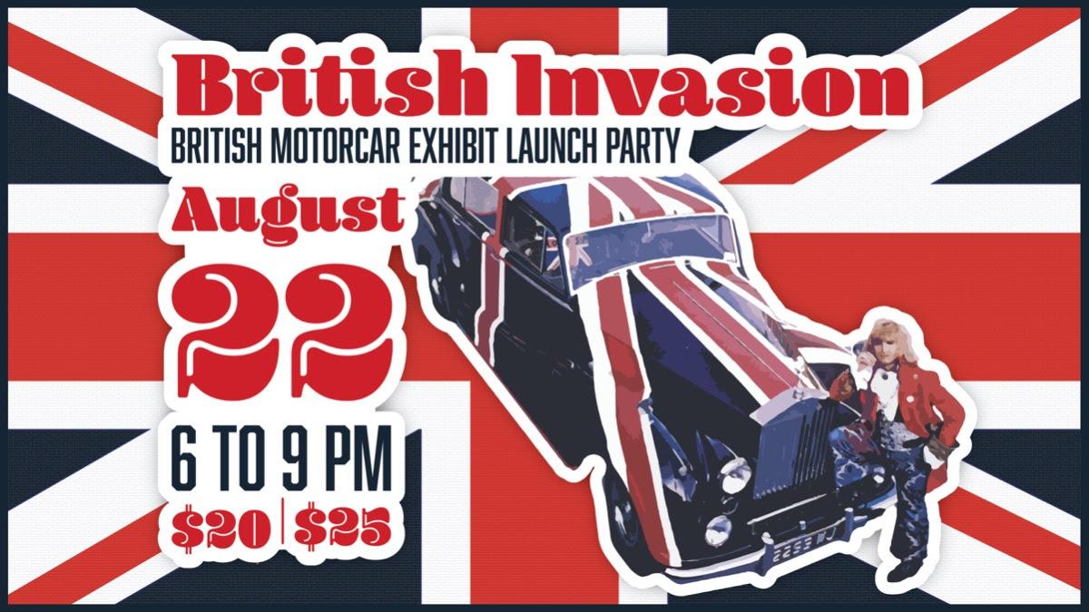 British Invasion @ CA Auto Museum