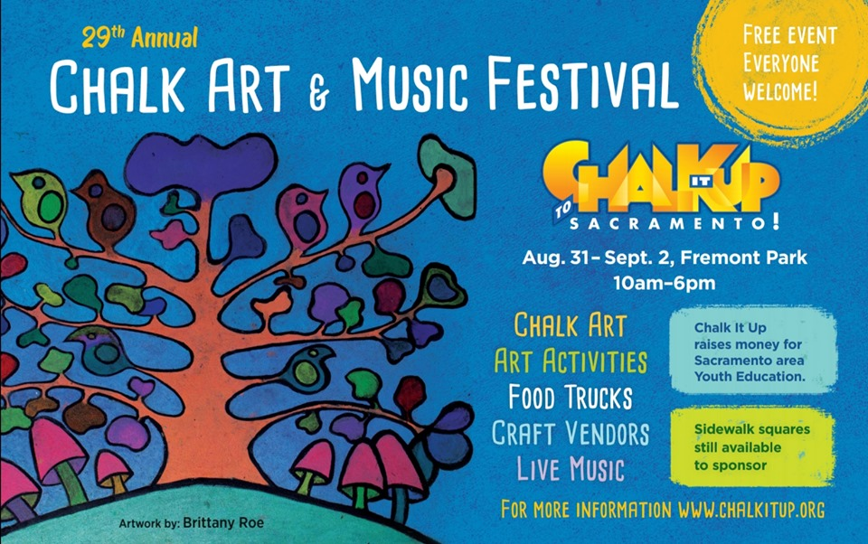 29th Annual Chalk It Up Festival @ Fremont Park
