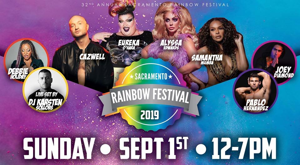 Sacramento Rainbow Festival 2019
