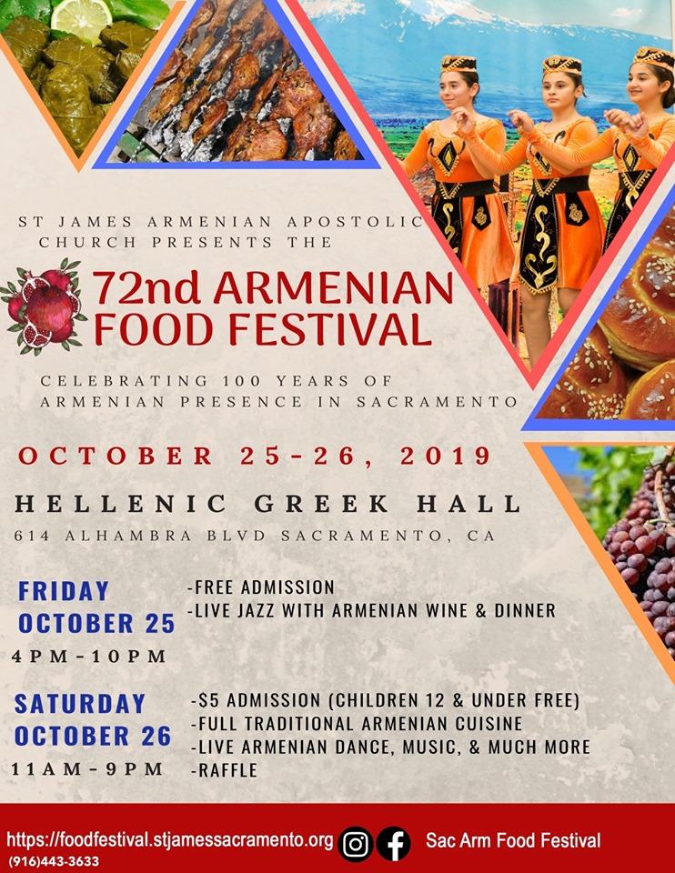 2019 Sacramento Armenian Food Festival