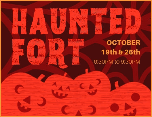 Haunted Fort @ Sutter's Fort