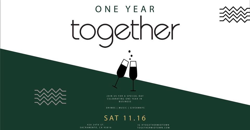Together Midtown One Year Anniversary