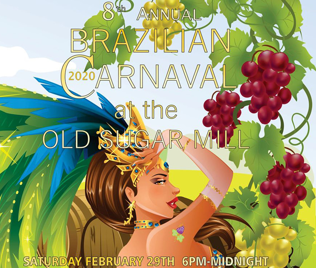 Brazilian Carnaval - Mardi Gras  @ Old Sugar Mill