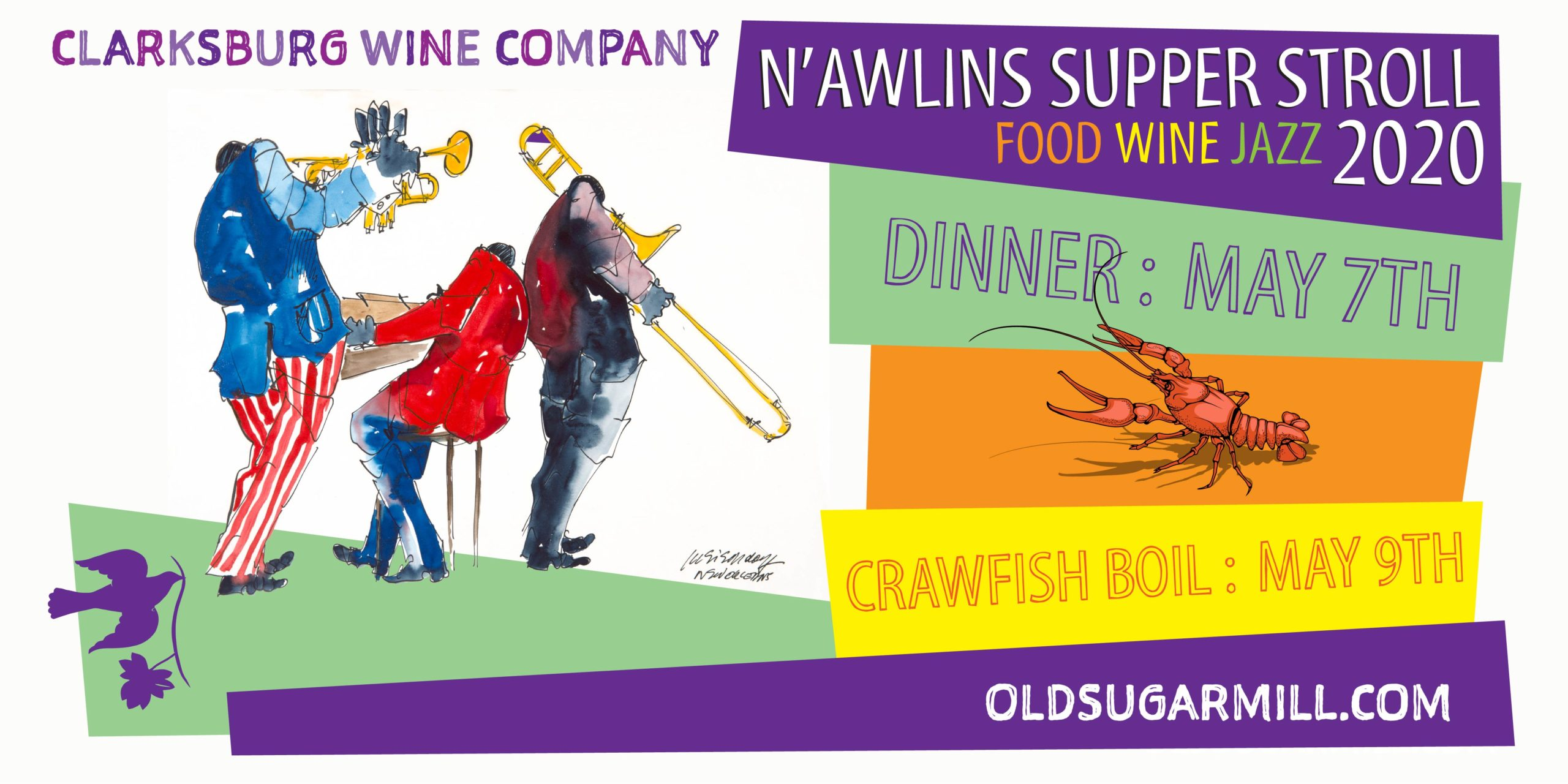 New Orleans Supper Stroll & Shrimp/Crawfish Boil - POSTPONED