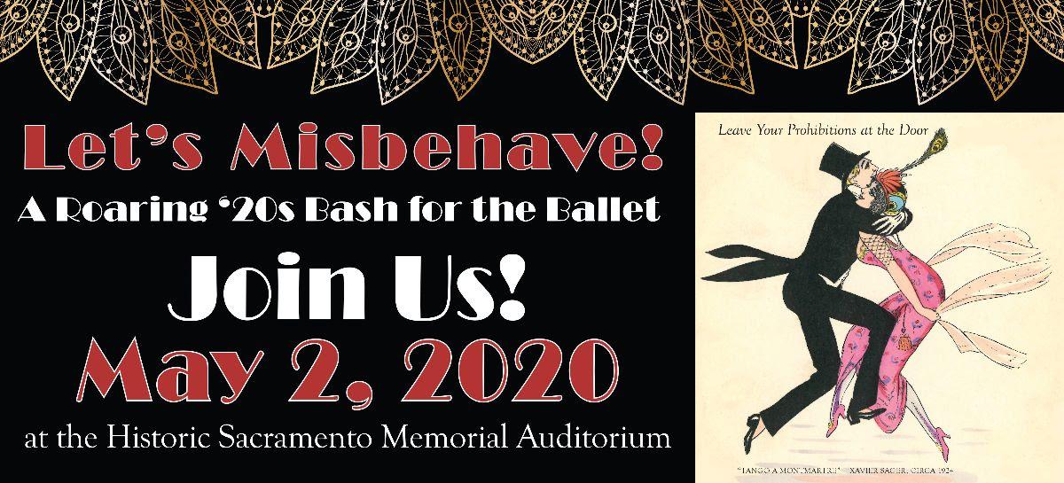 Let's Misbehave! A Roaring '20s Bash for Sacramento Ballet