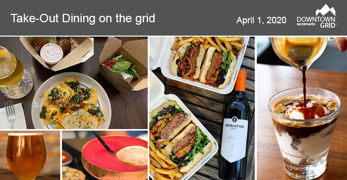 Downtown Grid Eats - TAKEOUT - April 1, 2020